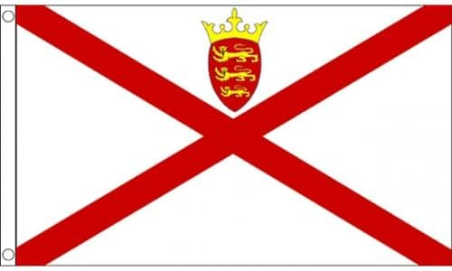 Jersey Flag 5ft x 3ft Metal Eyelets Double Stitched 75D 100% Polyester Flags